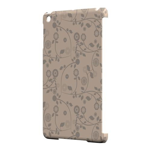 Geeks Designer Line (GDL) Slim Hard Case for Apple iPad Mini - Floral 2 Linen