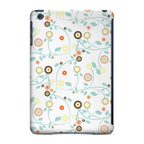 Geeks Designer Line (GDL) Slim Hard Case for Apple iPad Mini - Floral 2 Multi-colored