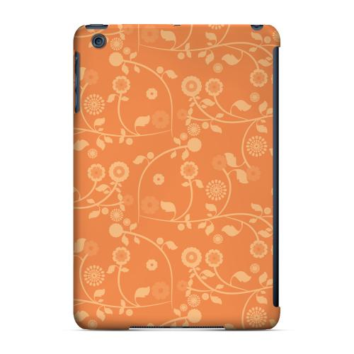 Geeks Designer Line (GDL) Slim Hard Case for Apple iPad Mini - Floral 2 Nectarine