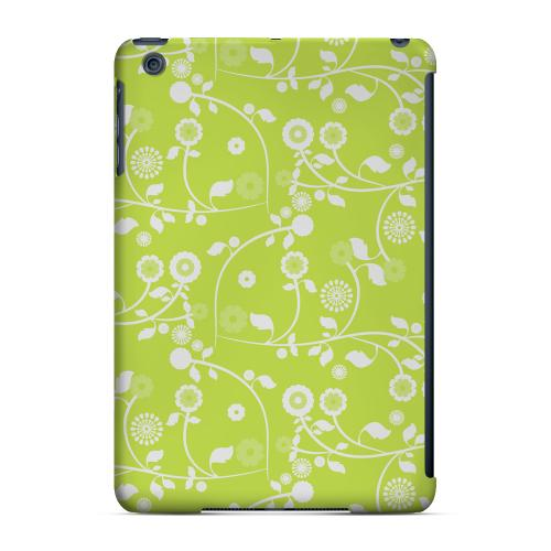 Geeks Designer Line (GDL) Slim Hard Case for Apple iPad Mini - Floral 2 Tender Shoots