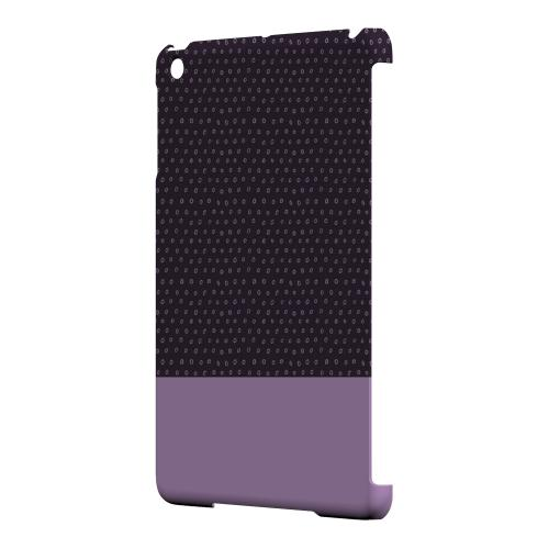 Geeks Designer Line (GDL) Slim Hard Case for Apple iPad Mini - Little Circle Dots African Violet