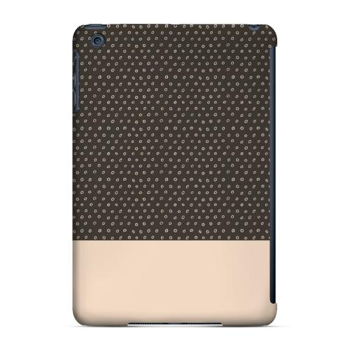 Geeks Designer Line (GDL) Slim Hard Case for Apple iPad Mini - Little Circle Dots Linen