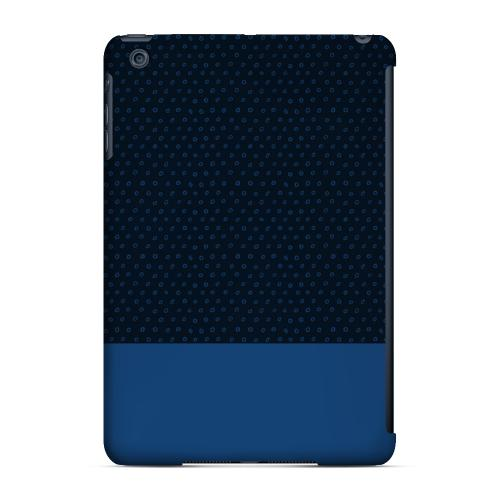 Geeks Designer Line (GDL) Slim Hard Case for Apple iPad Mini - Little Circle Dots Monaco Blue