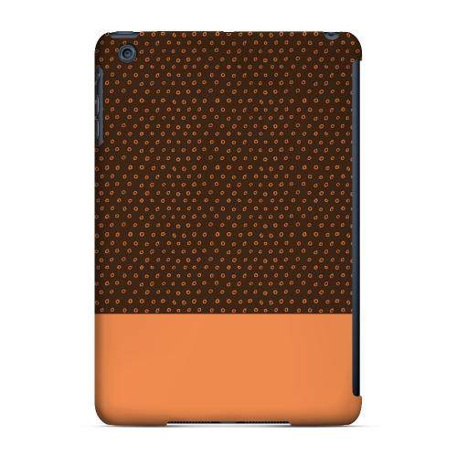 Geeks Designer Line (GDL) Slim Hard Case for Apple iPad Mini - Little Circle Dots Nectarine