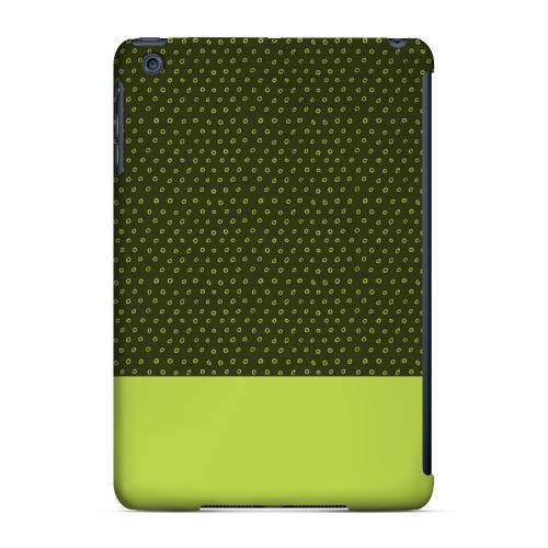 Geeks Designer Line (GDL) Slim Hard Case for Apple iPad Mini - Little Circle Dots Tender Shoots