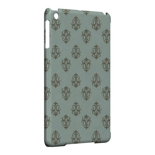 Geeks Designer Line (GDL) Slim Hard Case for Apple iPad Mini - Ornamental Dusk Blue