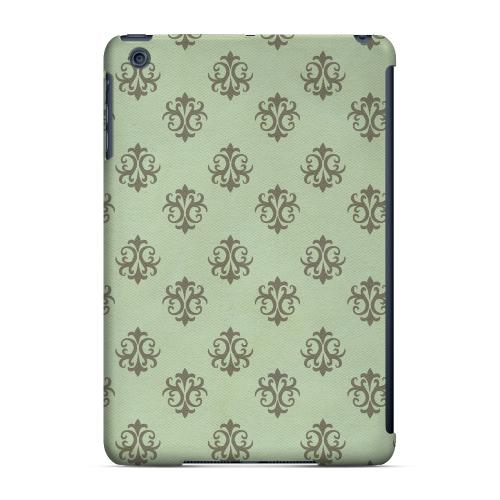 Geeks Designer Line (GDL) Slim Hard Case for Apple iPad Mini - Ornamental Grayed Jade