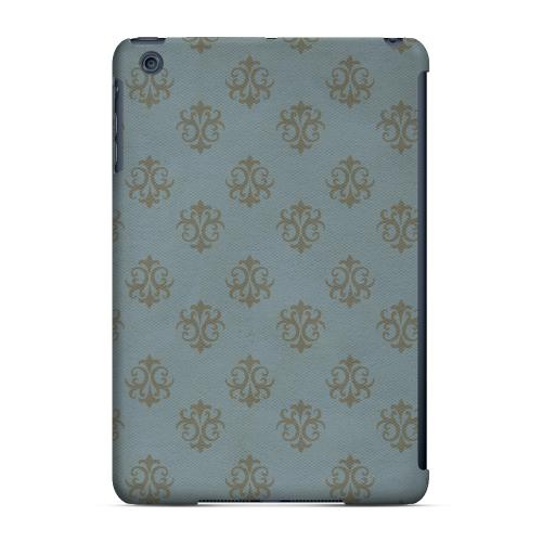 Geeks Designer Line (GDL) Slim Hard Case for Apple iPad Mini - Ornamental Monaco Blue