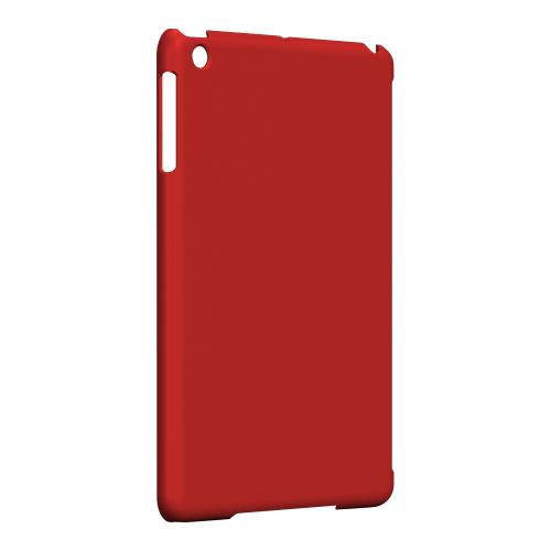 Geeks Designer Line (GDL) Slim Hard Case for Apple iPad Mini - S13 Pantone Poppy Red