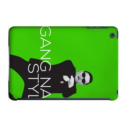 Geeks Designer Line (GDL) Slim Hard Case for Apple iPad Mini - Green Gangnam Style