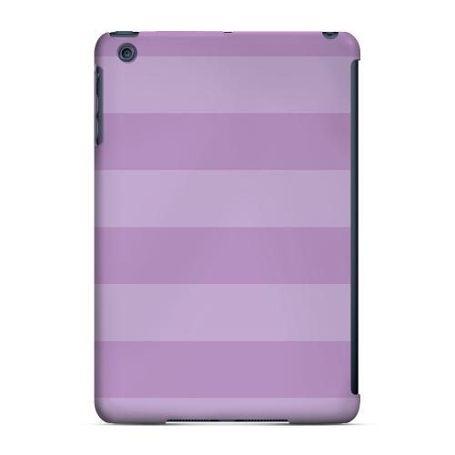 Geeks Designer Line (GDL) Slim Hard Case for Apple iPad Mini - Stripes African Violet