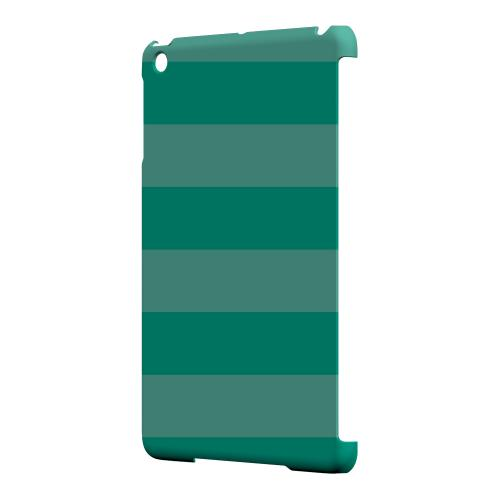 Geeks Designer Line (GDL) Slim Hard Case for Apple iPad Mini - Stripes Emerald