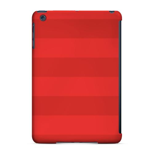 Geeks Designer Line (GDL) Slim Hard Case for Apple iPad Mini - Stripes Poppy Red