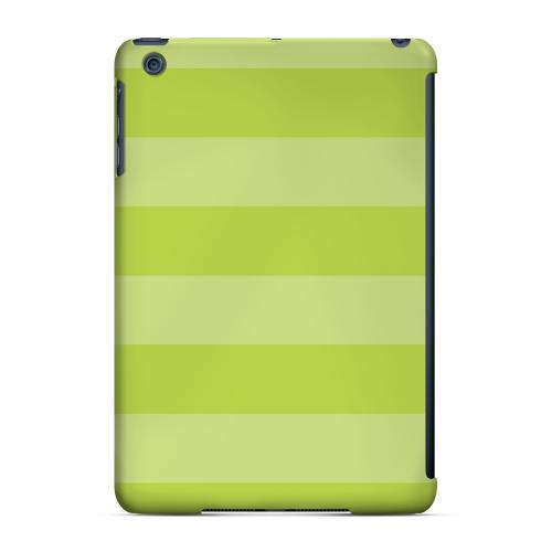 Geeks Designer Line (GDL) Slim Hard Case for Apple iPad Mini - Stripes Tender Shoots