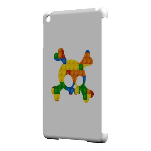 Geeks Designer Line (GDL) Slim Hard Case for Apple iPad Mini - Blocks Crossbones