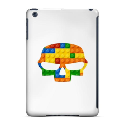 Geeks Designer Line (GDL) Slim Hard Case for Apple iPad Mini - Blocks Fatskull