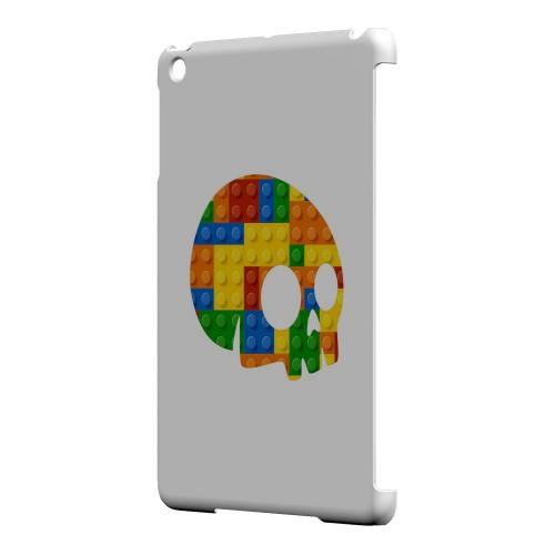 Geeks Designer Line (GDL) Slim Hard Case for Apple iPad Mini - Blocks Side Skull