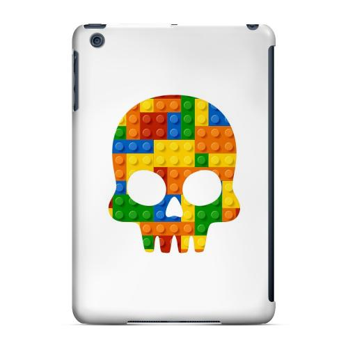 Geeks Designer Line (GDL) Slim Hard Case for Apple iPad Mini - Blocks Skull