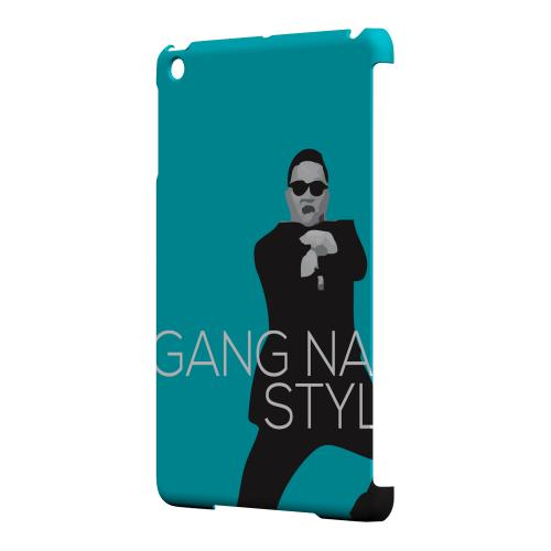 Geeks Designer Line (GDL) Slim Hard Case for Apple iPad Mini - Teal Gangnam Style