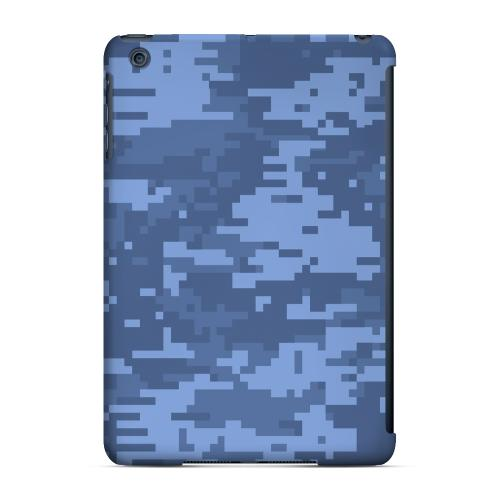 Geeks Designer Line (GDL) Slim Hard Case for Apple iPad Mini - Blue Digital Camouflage