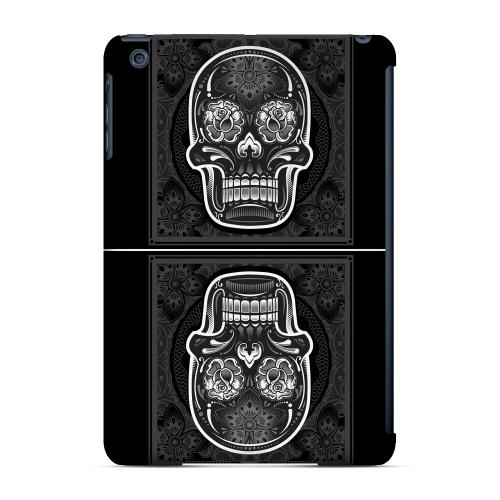 Geeks Designer Line (GDL) Slim Hard Case for Apple iPad Mini - Domino Double Skull