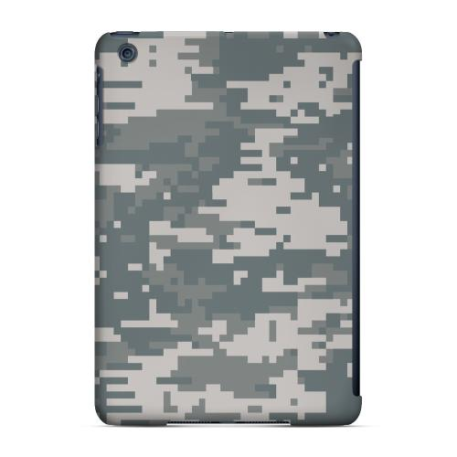 Geeks Designer Line (GDL) Slim Hard Case for Apple iPad Mini - Gray Digital Camouflage