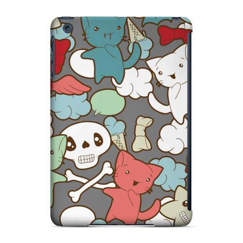 Geeks Designer Line (GDL) Slim Hard Case for Apple iPad Mini - Hello Neko Skull