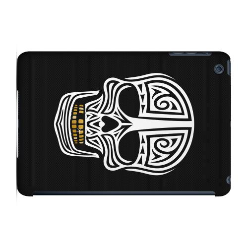 Geeks Designer Line (GDL) Slim Hard Case for Apple iPad Mini - Rapero Muerto on Dark Mesh Dot