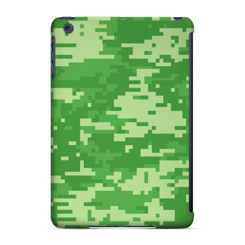 Geeks Designer Line (GDL) Slim Hard Case for Apple iPad Mini - Green Digital Camouflage
