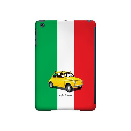 Yellow Alfa Romeo on Green/ White/ Red - Geeks Designer Line Auto Series Hard Case for Apple iPad Mini