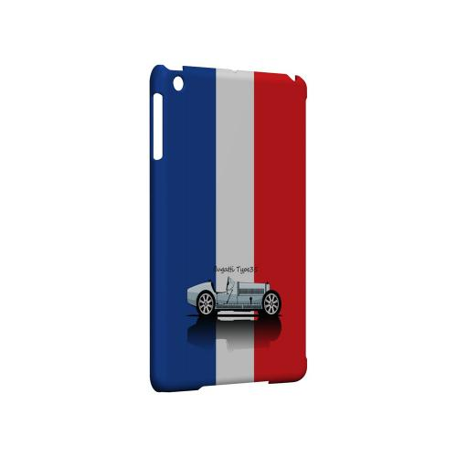 Bugatti Type 35S on Blue/ White/ Red - Geeks Designer Line Auto Series Hard Case for Apple iPad Mini
