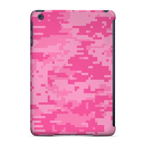 Geeks Designer Line (GDL) Slim Hard Case for Apple iPad Mini - Pink Digital Camouflage