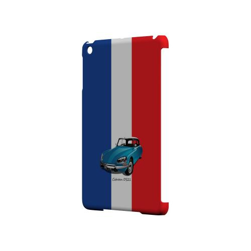 Citroen DS21 on Blue/ White/ Red - Geeks Designer Line Auto Series Hard Case for Apple iPad Mini