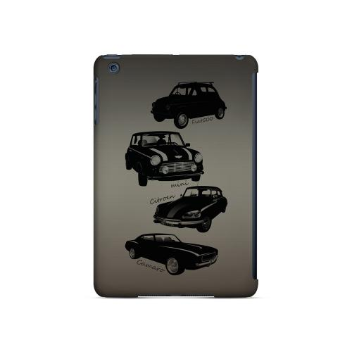 Classic Cars Fiat, Mini, Citroen, & Camaro - Geeks Designer Line Auto Series Hard Case for Apple iPad Mini
