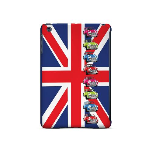 Multi Mini Coopers on Union Jack - Geeks Designer Line Auto Series Hard Case for Apple iPad Mini