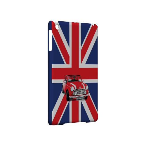 Solo Mini Cooper on Union Jack - Geeks Designer Line Auto Series Hard Case for Apple iPad Mini
