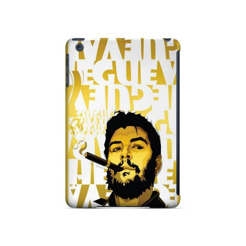 Che Guevara Smoke White Letters on Gold - Geeks Designer Line Revolutionary Series Hard Case for Apple iPad Mini