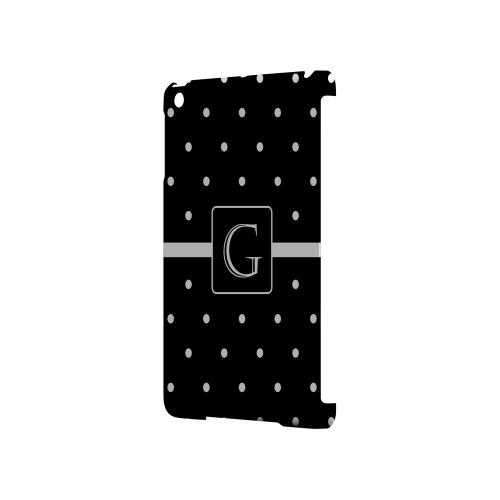G on Classic Mini Polka Dots - Geeks Designer Line Monogram Series Hard Case for Apple iPad Mini