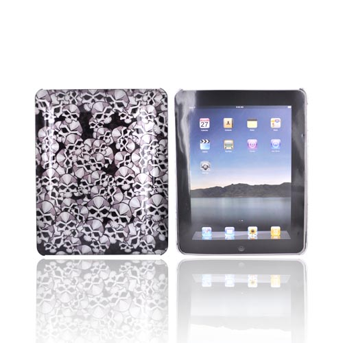 Apple iPad (1st Gen) 1st Hard Cover Case - Skull Design