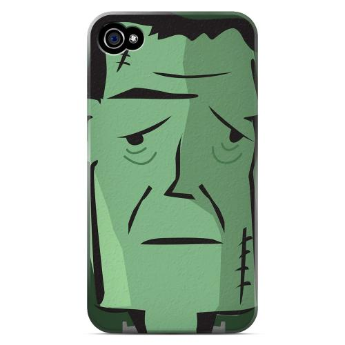 Geeks Designer Line (GDL) Apple iPhone 4/4S Matte Hard Back Cover - Lonely Frankenstein