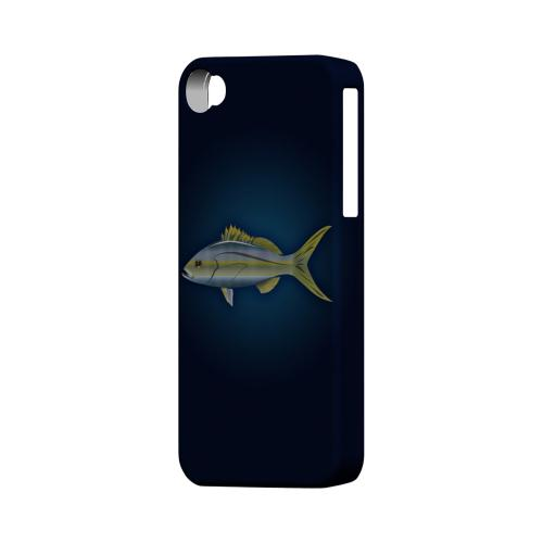 Geeks Designer Line (GDL) Fish Series Apple iPhone 4/4S Matte Hard Back Cover - Yellowtail