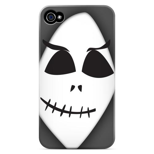 Geeks Designer Line (GDL) Apple iPhone 4/4S Matte Hard Back Cover - Grinning Grim Reaper
