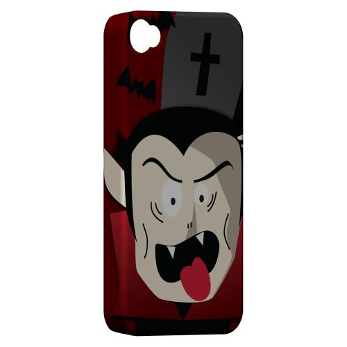 Geeks Designer Line (GDL) Apple iPhone 4/4S Matte Hard Back Cover - Immature Vampire
