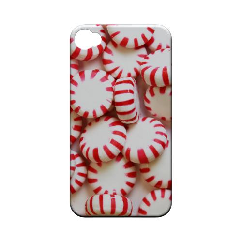 Geeks Designer Line (GDL) Apple iPhone 4/4S Matte Hard Back Cover - Peppermints