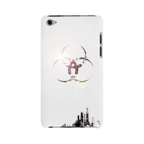 Geeks Designer Line (GDL) Retro Series Apple iPod Touch 4 Slim Hard Back Cover - Ghost Town