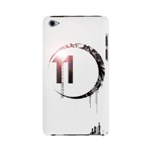 Geeks Designer Line (GDL) Retro Series Apple iPod Touch 4 Slim Hard Back Cover - Moon 11