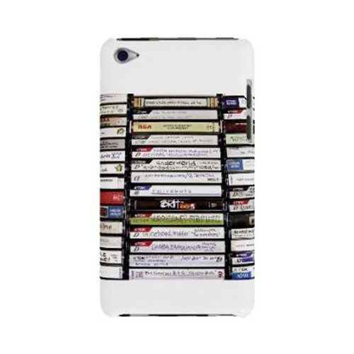 Geeks Designer Line (GDL) Retro Series Apple iPod Touch 4 Slim Hard Back Cover - VHS