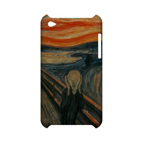 Edward Munch The Scream Geeks Designer Line Artist Series Slim Hard Case for Apple iPod Touch 4
