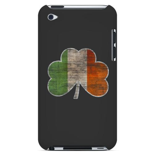 Irish Clover Flag - Geeks Designer Line Holiday Series Hard Case for Apple iPod Touch 4
