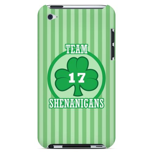 Team Shenanigans - Geeks Designer Line Holiday Series Hard Case for Apple iPod Touch 4